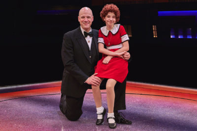 Daddy Warbucks and Annie