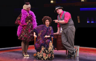 Miss Hannigan with Rooster and Lily