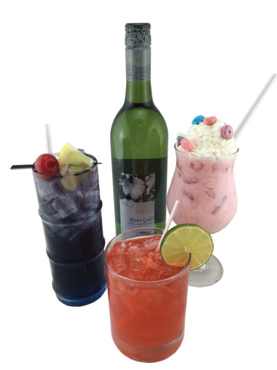 Buddy Holly drinks