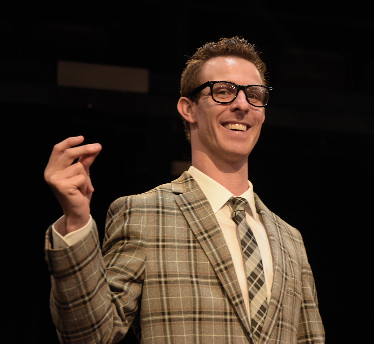 Matt McClure as Buddy Holly
