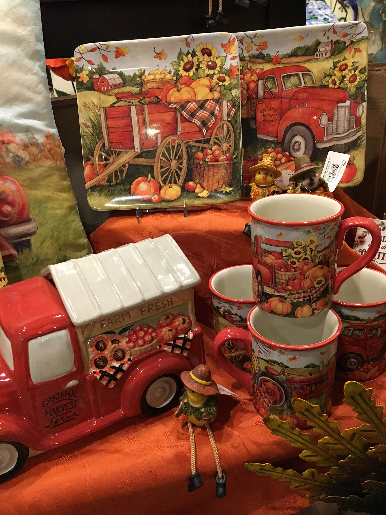 Fireside Gift Shops fall decor
