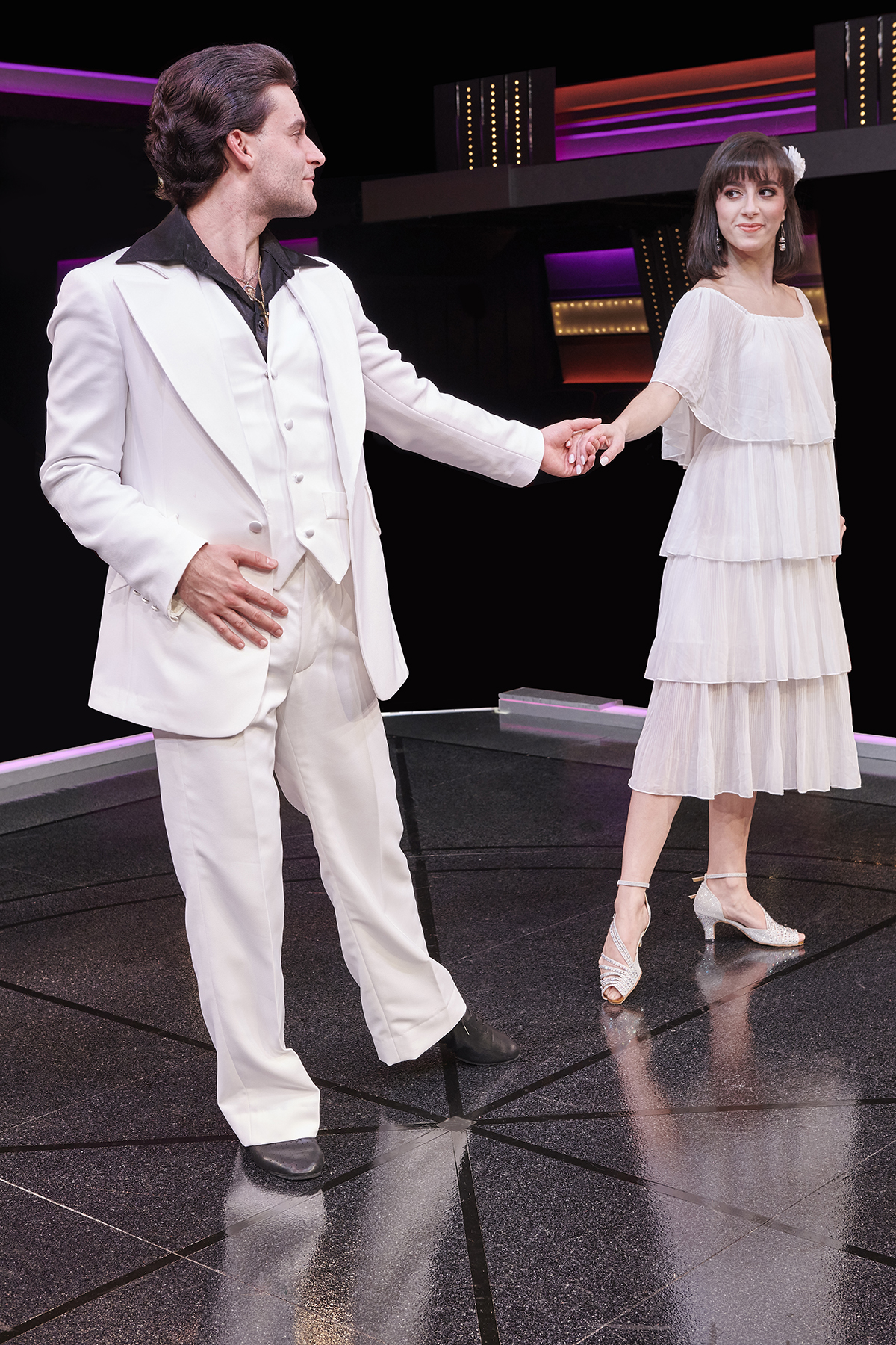 Tony and Stephanie in Saturday Night Fever