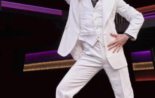 Alex Drost as Tony Manero in Saturday Night Fever