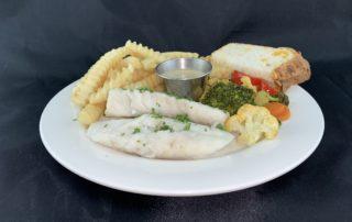 Steamed Fish Dinner