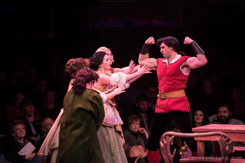 David Sajewich as Gaston