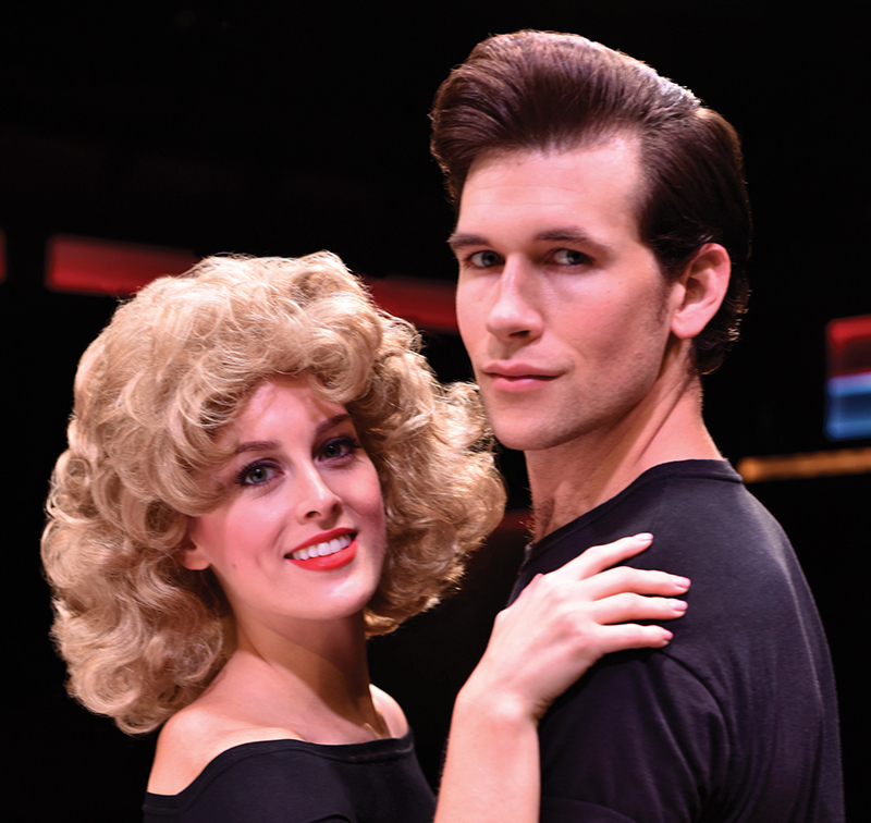 Bailey as Sandy in Grease