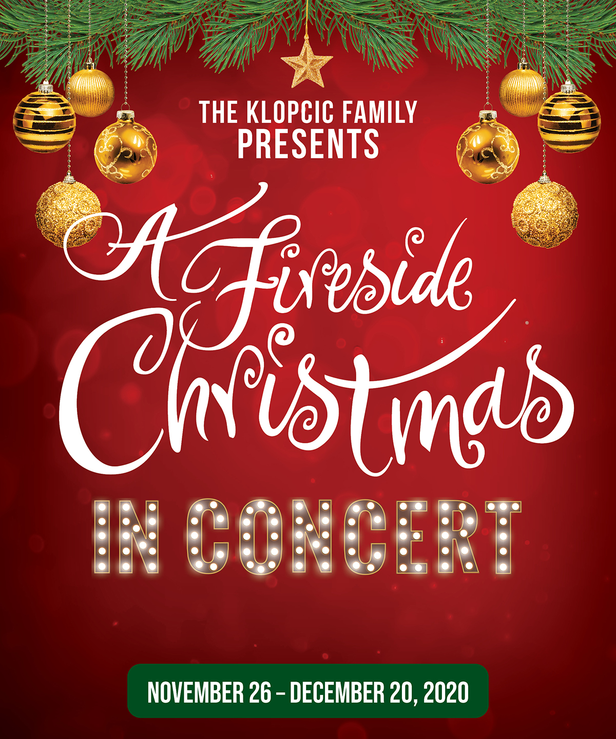 Concerts On Christmas Eve 2020 The Fireside Theatre | Midwest's Most Popular Dinner Theatre