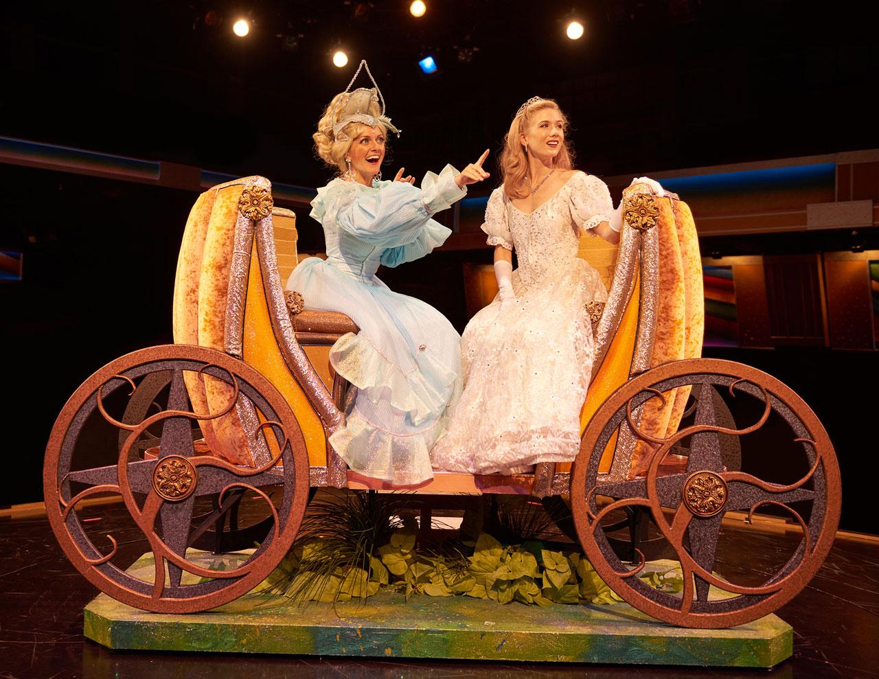 Cinderella's golden carriage